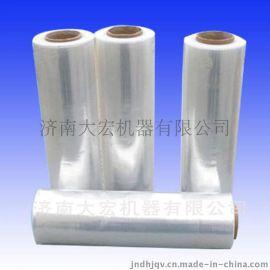 优质缠绕膜 pe拉伸膜 50LLDPE手用机用膜