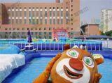 鄭州利德爾高壽命支架游泳池,高質量移動泳池