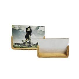 厂家批发  实木亚克力相框摆台 欧式木质相框 6寸水晶创意相架
