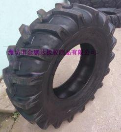 **15-24人字花纹联合收割机轮胎 农用车轮胎