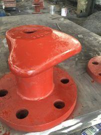 船用五金配件铸铁系船柱 拴船桩 栓船环可来图定制