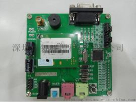 SIM300+单片机MCU GSM/GPRS彩信模块 语音手机开发板 含单片机