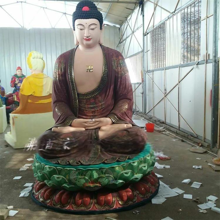 三宝佛祖神像 琉璃药师佛祖像 佛教神像批发 欢迎选购