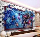 网吧游戏墙纸定制 餐厅游乐场3d壁画 主题ktv壁纸