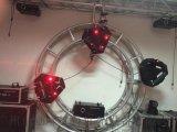 直销彩色光束九头鸟激光灯厂家摇摆动态摇头红绿蓝激光舞台灯光