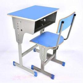 驻马店学生课桌椅厂家|驻马店单人课桌椅