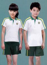 中小学生运动校服夏季两件套