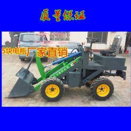 湖南中首重工轮式电动装载机改装小型电动铲车图片食品厂专用