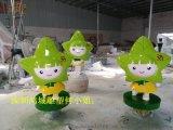 深圳玻璃钢零售小女孩卡通造型/小女孩公仔雕塑装饰