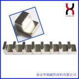 供应异形钕铁硼环保磁铁圆凸L型
