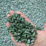 灰色碎石 灰色洗米石生产厂家 机制打磨灰黑色小石子 彩色磨石