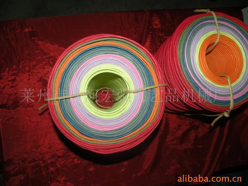 供應手挽單股多花紙繩,針鉤紙繩,針紙絲絲繩,網聯式紙繩,提繩,繩