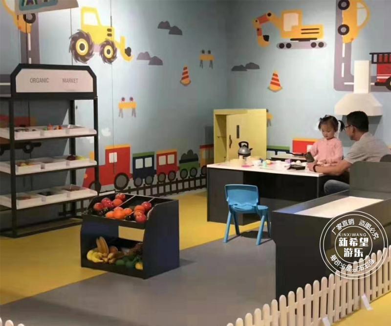 廠家****親子餐廳遊樂設施設計裝修 淘氣堡設備 兒童主題餐廳