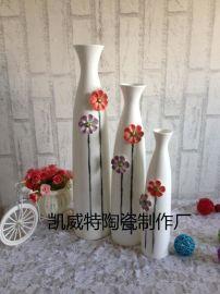 时尚简约陶瓷花瓶,书房花瓶摆件,新婚礼物