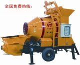 强制混凝土搅拌泵送一体机