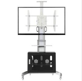 NB品牌AVG1800-72-1P(42-72寸)视频会议移动电视支架(带柜)