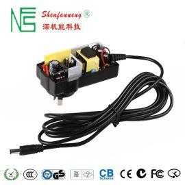 深圳厂家直供12V3A国标CCC认证电源适配器