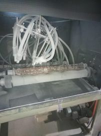 苏州昆航长筒型滚轴式自动环保型喷砂机
