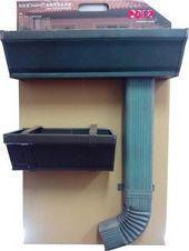 金属落水系统,彩铝天沟,成品檐沟,铝合金雨水槽