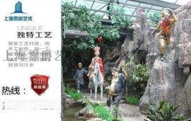 仿真西游记人物雕塑 定做孙悟空猪八戒模型玻璃钢摆件