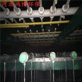 湿式静电除尘器阳极管采用树脂纤维的制备方法