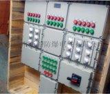 定做铝合金下进下出防爆配电箱施耐德元件