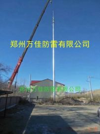 GH-19米环形钢管杆独立避雷针,GH不锈钢避雷针