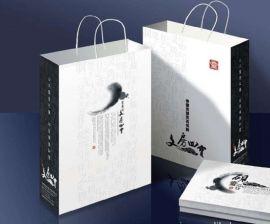 牛皮纸手提袋定做 广告购物纸袋 包装袋礼品袋批发