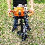 手提式小型挖坑机价钱3.2马力二冲程挖坑机