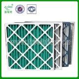 广东富瑞希厂家直销纸框折叠板式初效过滤器,空气过滤器