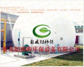 河北**工程项目专用2000/3000立方一体化双膜气柜