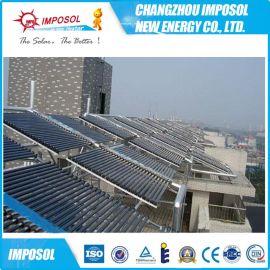 出口工程20管太阳能集热器工程,江苏太阳能热水器工程报价
