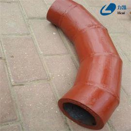 陶瓷耐磨弯头内衬陶瓷耐磨弯头各种倍数耐磨弯管陶瓷复合耐磨钢管