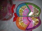 零食果盤 乾果盤 瓜子花生盤 開心果盤 水果塑料盤