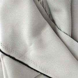 永久(阻燃高精密)遮光布 高克重高精密遮光布 永久阻燃仿麻遮光布