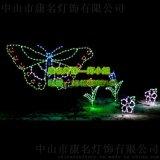 LED吃草马灯串造型灯 丹顶鹤灯串造型灯