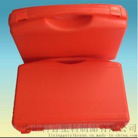 ky006 430*300*120mm 軍綠色廠家直銷手提塑料包裝箱兒童文具箱電源包裝箱儀箱器漁具包裝盒多功能組合防護箱