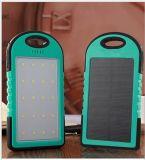 廠家直銷戶外露營燈充電寶5000毫安培小三防太陽能移動電源定製