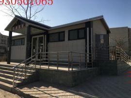 石家庄cc8341型防腐木移动厕所环保厕所