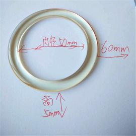 胶圈 塑胶圆圈 塑料圆环 文胸扣 窗帘扣 箱包扣件 透明圈注塑加工