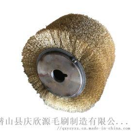 缠绕毛刷辊钢丝缠绕毛刷辊 杜邦丝毛刷 碳化硅毛刷辊