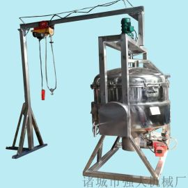 定制高压夹层锅 带搅拌带吊笼高压蒸煮锅