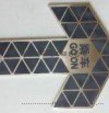 地铁消防逃生蓄光标志  不锈钢自发光导向标识