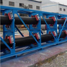 管状带式输送机输送各种块状物料 移动式