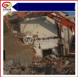房梁混凝土破拆钳 液压挖机粉碎钳 钢筋分离打包