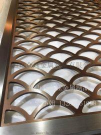 满焊不锈钢拉丝仿古铜花格屏风制作安装工程