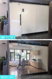 重慶通電電控調光玻璃生產廠家報價