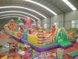 甘肃天水充气城堡玩具厂定做小猪佩奇充气蹦床