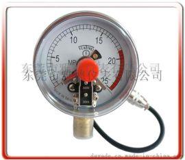100MM径向耐震电接点压力表