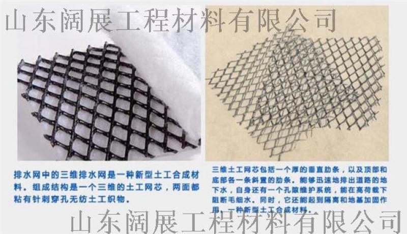 三维复合排水网 土工网 复合土工网